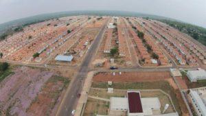 imagem aérea setor Costa Esmeralda