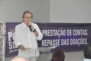 Eduardo Gomes apresenta o balanço financeiro