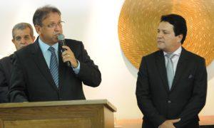 Marcelo Miranda transmitiu o cargo a Osires Damaso na manhã desta quinta-feira
