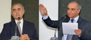 Dep. Paulo Morão à esquerda e José Salomão à direita.