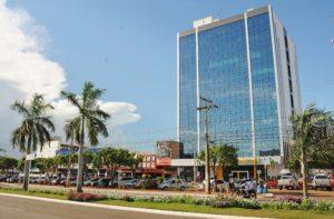 Prédio da Prefeitura de Palmas na Avenida JK