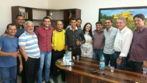 Wanderlei Barbosa se reúne com lideranças do PRB