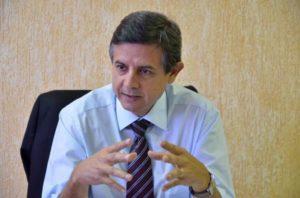 Secretário estadual da Saúde, Samuel Braga Bonilha