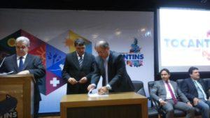 Alexandro de Castro, assume como secretário do Desenvolvimento Econômico, Ciência, Tecnologia, Turismo e Cultura.