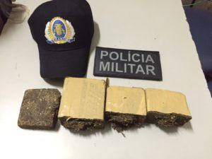 Drogas apreendidas em Palmas