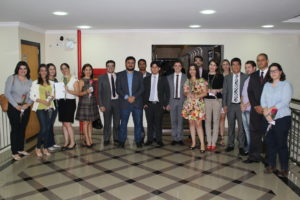 Membros da nova Comissão de Direitos Humanos da OAB-TO