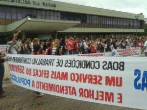 Manifestação nesta quarta-feira, 21, em Palmas