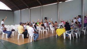 Assembleia Geral aprova pacto da legalidade