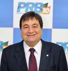 Presidente Regional do PRB-TO, Deputado Federal Cesar Halum