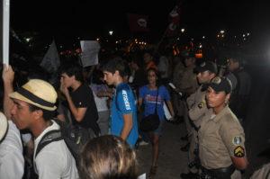 Manifestação ocorrida em Palmas, 2013