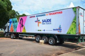 Carreta da Saúde do governo do Tocantins (Foto: Divulgação)