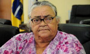 Marcelo Miranda lembrou-se da luta de Dona Raimunda em defesa das mulheres quebradeiras de coco na região do Bico do Papagaio