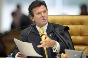 Relator do processo - Min. Luiz Fux
