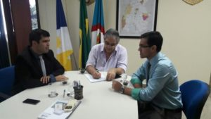 Reunião com secretário da SSP