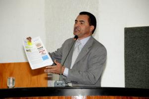 Deputado Wanderlei Barbosa na trinuna da Assembleia Legislativa