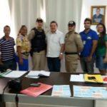 PM, MP e prefeitura tratam sobre segurança pública no 'Quadrilhão de Sítio Novo'