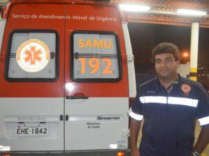 Deives Dias de Oliveira foi morto com quatro tiros no Samu de Piracicaba (Foto: Thomaz Fernandes)