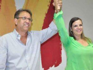 Marcelo Miranda e Claudia Lelis