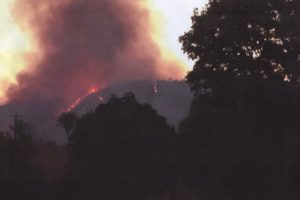Incêndio ocorrido em setembro de 2015
