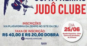 Pamas recebe atletas de 6 estados para 1° Copa Palmas Judô Clube