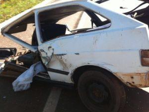 acidente na BR-153