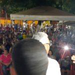 Pré-candidato a prefeito Wanderlei Barbosa arrasta uma multidão para reunião na região sul de Palmas