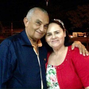Pastor José Ribamar e esposa