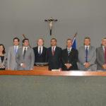 Com voto de Valderez, deputado Mauro Carlesse é eleito novo presidente da Assembleia