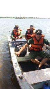 Equipe da PM Ambiental faz patrulhamento nos rios do TO