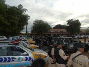 Novas viaturas e reforço no policiamento intensisificam as  ações da PM em Araguaína