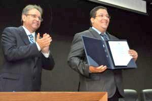 Marcelo Miranda e Geferson Barros
