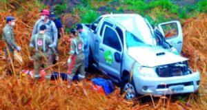 Ex-prefeito Antenor Queiroz sofre grave acidente na BR-153, após perder o controle do veículo