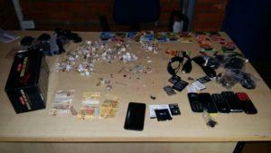 Objetos furtados recuperados pela PM em Pau Darco
