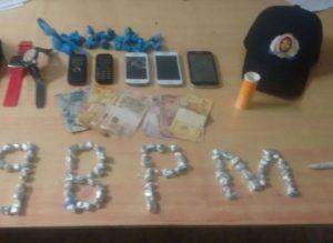 Objetos recuperados por PM em Itaguatins