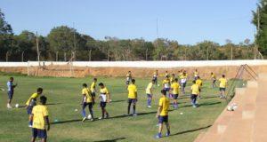 Sub-18 do Ricanato inicia preparação para o Estadual 2016