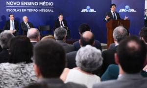 O novo formato do Ensino Médio brasileiro foi lançado na tarde dessa quinta-feira, 23, durante cerimônia no Palácio do Planalto