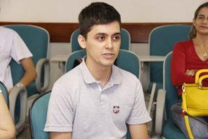 Rodrigo Carvalho Dias, de Araguaína, foi o representante do Tocantins na última edição