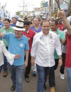 Dimas e Vicentinho - Foto: Marcos Filho