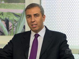 Vice-governador de Goiás, José Eliton foi baleado em Itumbira, Goiás (Foto: Reprodução/TV Anhanguera)