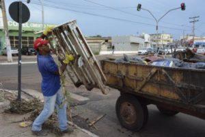 Limpeza urbana de Araguaína