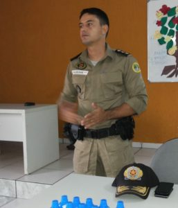 Major Valdeone - comandante do 9º BPM