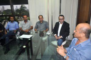 Reunião da Fesserto com Secretário de Governo
