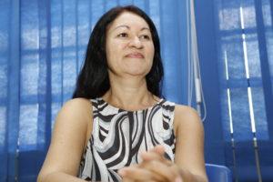 Gleice Fernandes Tavares - professora de língua portuguesa