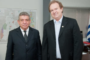 Clenan Renault e Mauro Carlesse