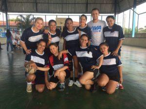 Time feminino de futsal da apae