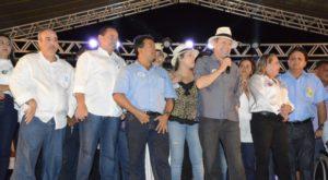 Último comício de Dimas na campanha de 2016