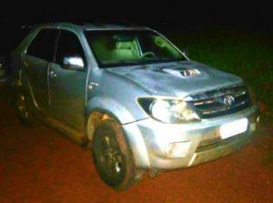 Veículo recuperado pela PM