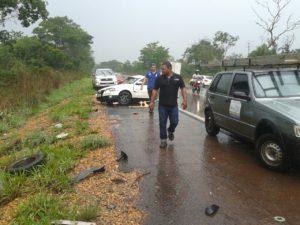 Acidente na rodovia entre São Bento e Araguatins