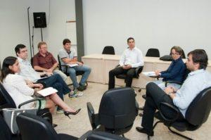 Reunião foi realizada na sede do MPE, em Palmas