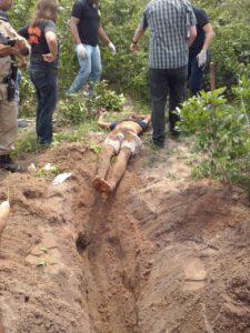 Corpo encontrado no setor serra dourada em Araguaína - Foto: NT